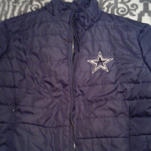 size 40 d1db9 8e6c7 Dallas Cowboys puffer jacket